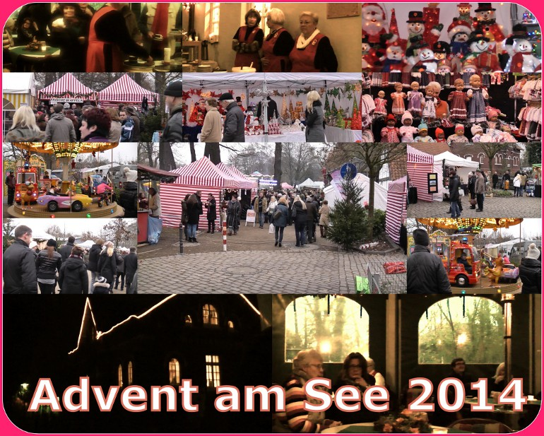 "Collage ""Advent am See"" 2014"